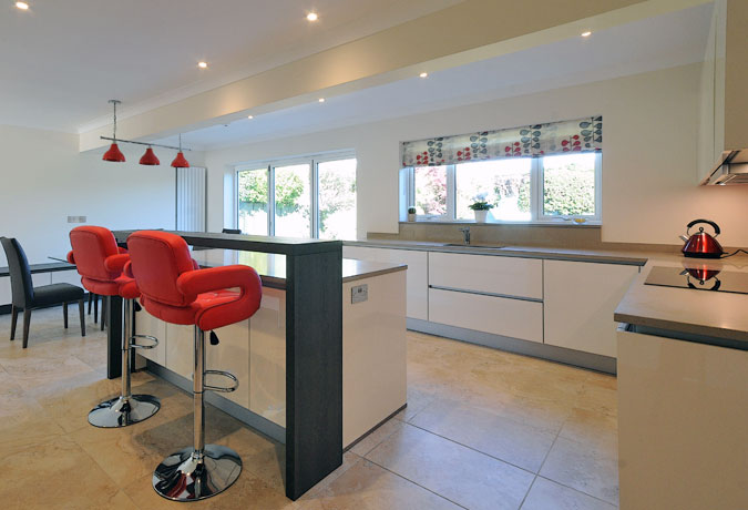 Kitchen extension case study